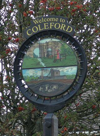 Coleford sign