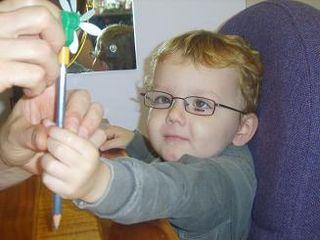 Charley in glasses