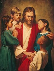 Christ_and_children_2