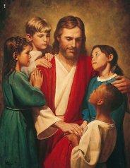 Christ_and_children_2